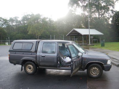My car stopped at Ourimbah, New South Wales