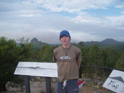 The spectacular Glass House Mountains