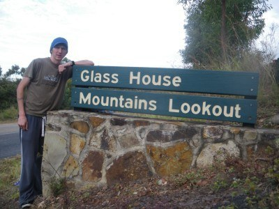 Lookout point for the Glasshouse mountains