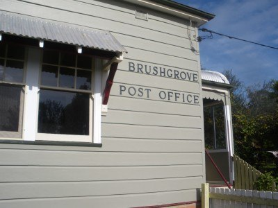 Brushgrove Post Office on Woodford Island