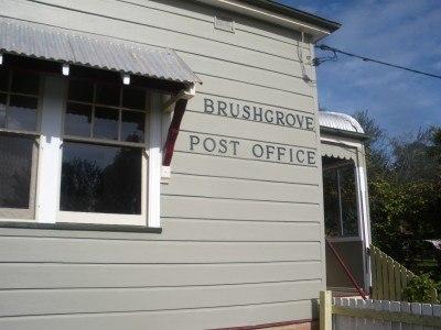 Brushgrove Post Office on Woodford Island