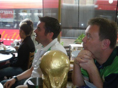 Tense times as we scrape a 0-0 with Italy.