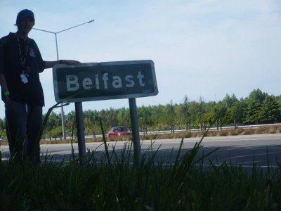 Arrival in Belfast, New Zealand