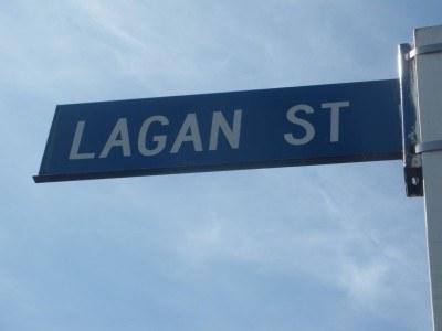 Lagan Street, minus the river