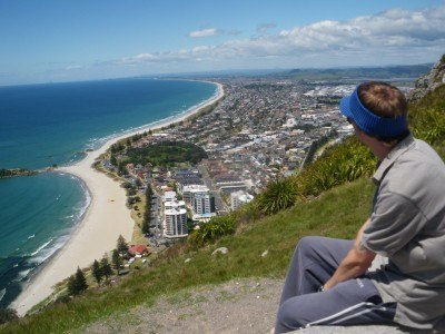 Amazing views from the top of Mount Manganui