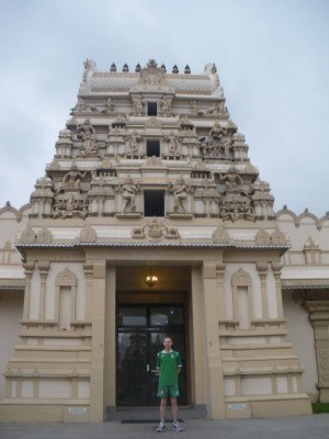 At the Murugan Temple in Westmead