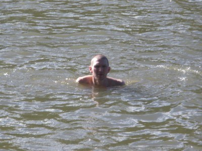 Swimming at Casuarina Sands, Australian Capital Territory