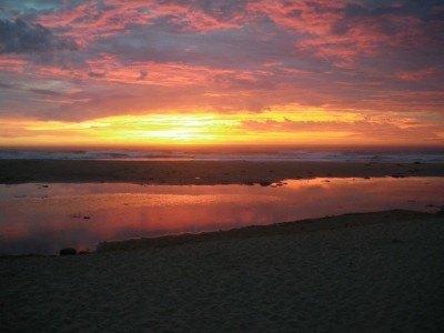 Sunrise south of Mosquito Hill, Tasmania