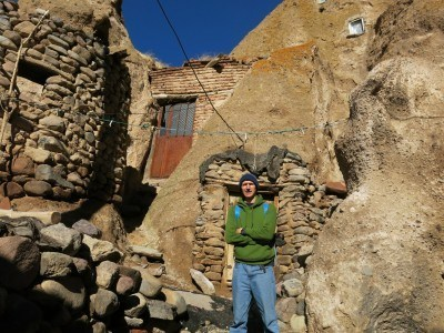 Backpacking through the village of Kandovan