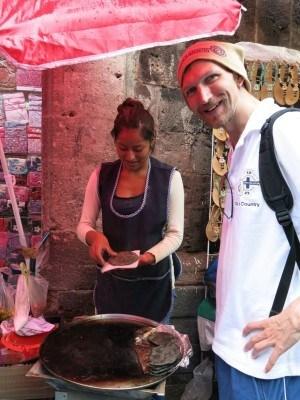 Enjoying the street markets of colossal Mexico City