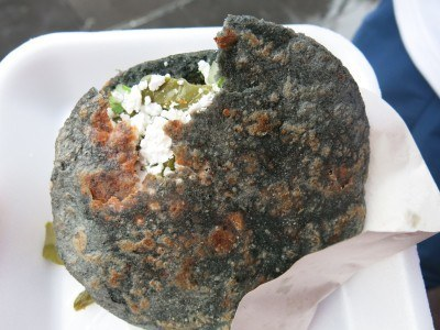 Friday's Featured Food: Blue Tortillas in Mexico City, Mexico