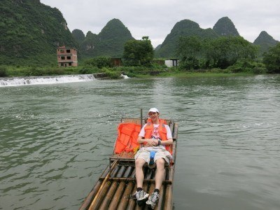 Actually the slow boat through China