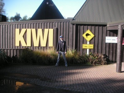 Kiwi Centre - Backpacking in Rotorua, New Zealand