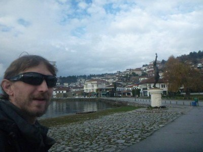 Backpacking in Ohrid