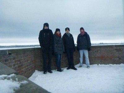 Walls of Kronborg Castle