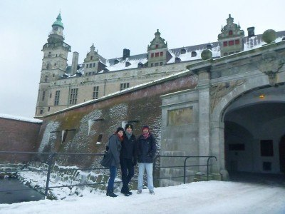 Entrance to Kronborg Castle