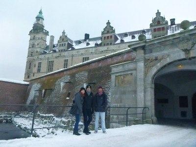 Entrance to Kronborg Castle