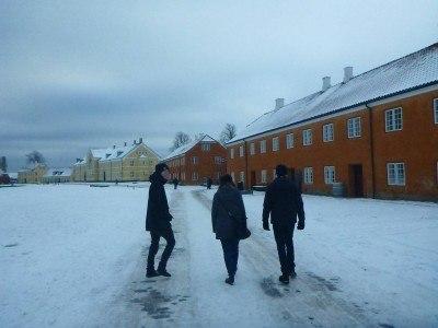 Walking to Kronborg Castle