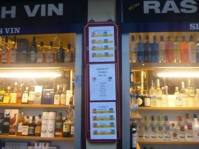 Cheaper Booze in Denmark's Helsingor compared with Sweden's Helsingborg