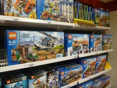 Getting my Lego browsing fix in Helsingor, Denmark