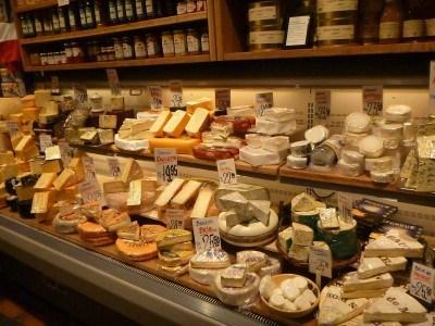 The cheese shop in Helsingor, Denmark