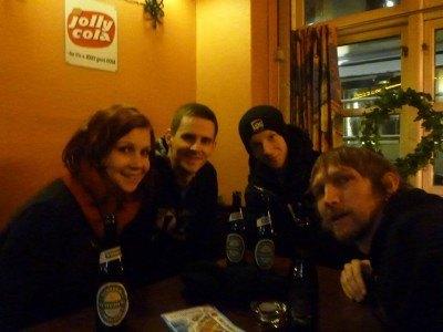 Beers in Strandborg bar