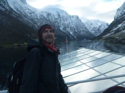 Touring the fjords of Norway between Gudvangen and Flam