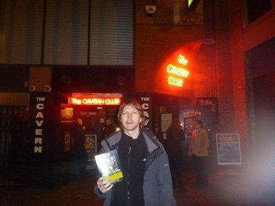 Outside the Cavern Club in Liverpool