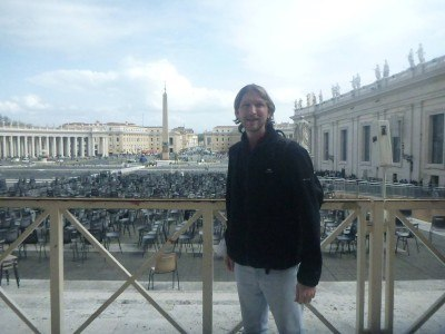 In St. Peter's Square, Vatican City State