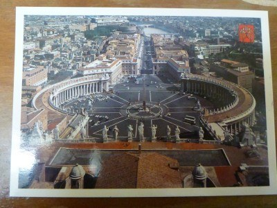 Vatican City postcard