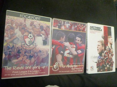 I watched AFC Bournemouth DVDs