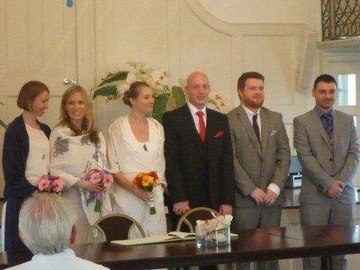 Attending Ben and Maria's wedding
