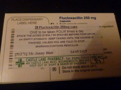 No idea what Flucloxacillin is