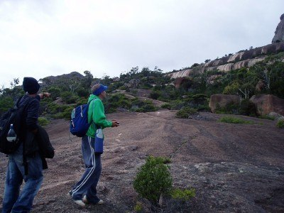 Backpacking in Australia - Mount Amos