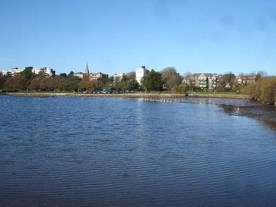 Poole Park - the lake