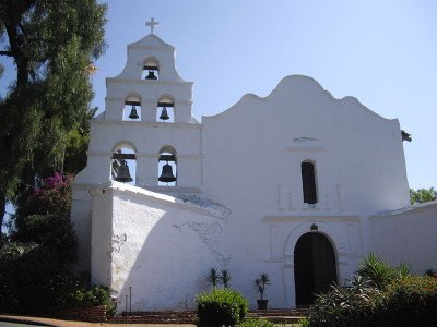 Church in San Diego, USA