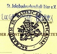 A rare Vatican City Passport Stamp - NOT mine, I couldn't get one