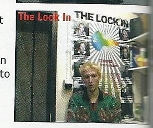 In the diary room in the Lock In