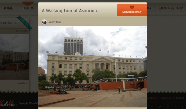 My walking tour of Asuncion in Paraguay