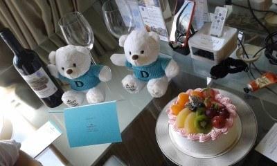 Birthday treats for Panny Yu at the Dorsett Mong Kok