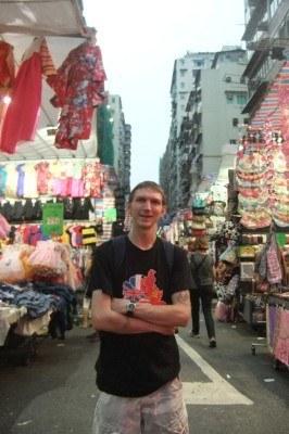Touring Ladies Market in Mong Kok