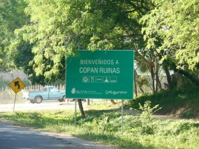Arrival in Copan Ruinas, Honduras