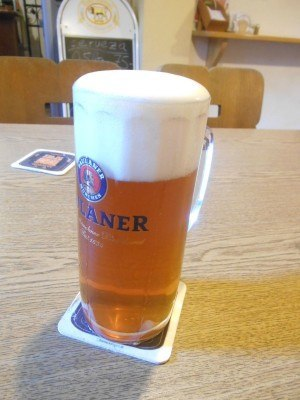 First German beer of the day