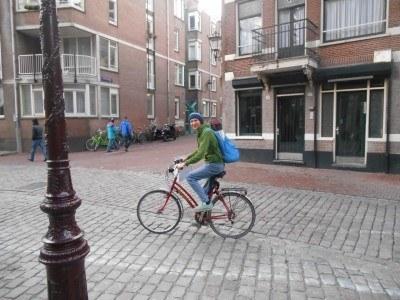 Back in Amsterdam, Netherlands