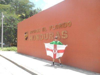 Arrival into Honduras at the El Florido border from Guatemala.