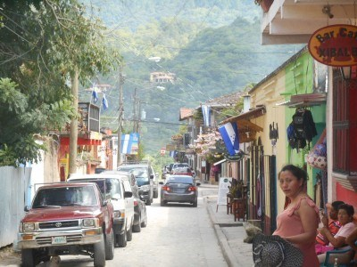 Backpacking in Honduras: Copan Ruinas