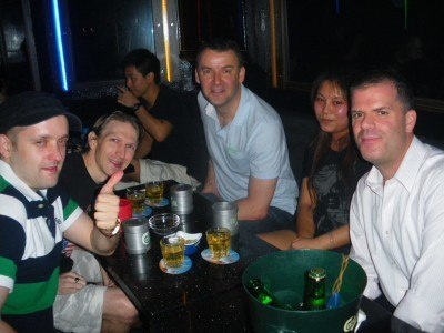 A night out in Mong Kok in Cox Bar