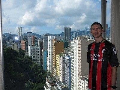 Staying at the City View Hotel, Yau Ma Tei, Kowloon, Hong Kong