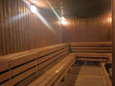 Female sauna at the City View Hotel