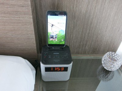 An in-room Smart Phone at the City View